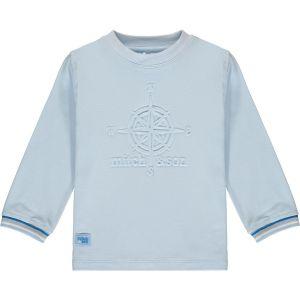 Mitch & Son Boys Pale Blue Cotton Jersey Ryder Top
