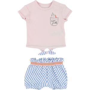 Little Marc Jacobs Girl's T-Shirt and Short Set