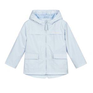 Mitch & Son Boys Pale Blue Windbreaker Bain Jacket