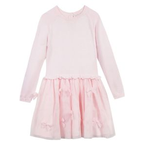 LILI GAUFRETTE Girl's Pink Laurie Cotton Dress