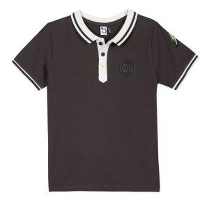 3Pommes Grey Polo Shirt