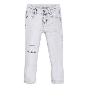 3Pommes Grey Faded Jeans