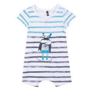 3Pommes Striped Cotton Baby Shortie