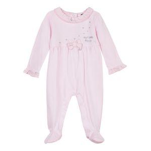 3Pommes Pink Cotton Babygrow