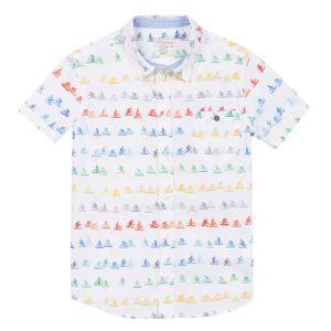 Paul Smith Junior Boy's White 'Ralph' Shirt