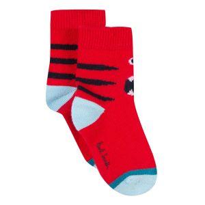 Paul Smith Junior Red 'Ranch' Socks