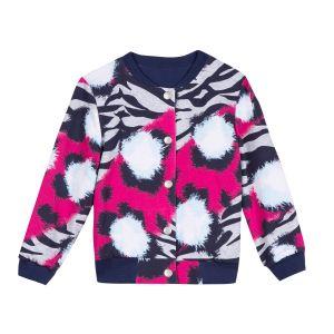 Kenzo Kids Girl's Reversible Bomber Jacket