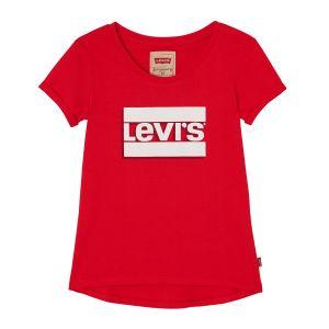 Lev i's Girl's Red Logo T-Shirt