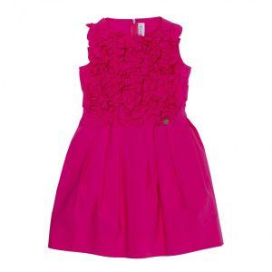 Simonetta Pink Poplin Dress