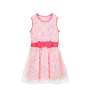 Billieblush Pink & White Mesh Dress