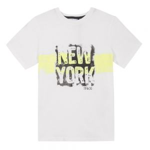 3Pommes Ivory New York T-shirt