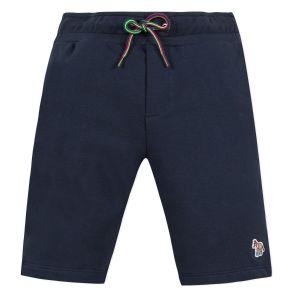 "Paul Smith Junior Boys Blue ""Anton'Cotton Shorts"