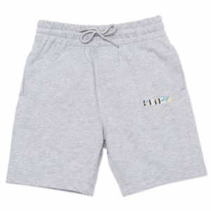 KENZO KIDS Boys Grey K Logo Shorts
