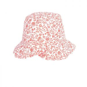 Carrément Beau Girl's Pretty Floral Sun Hat