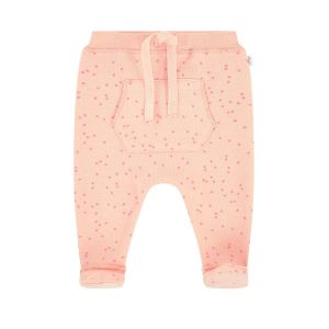 Absorba Baby Girl's Peach Spotted Pants With Feet