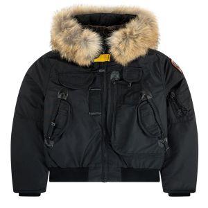 Parajumpers Boy's Black Down Padded Gobi Jacket