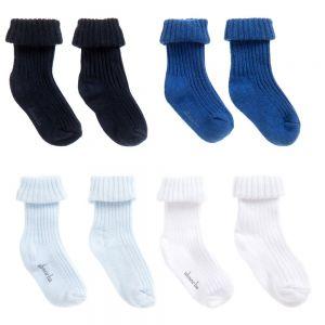 Absorba Baby Boy's Sock Set (4 Pair Pack)