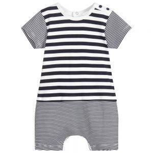 Absorba Baby Boy's Blue Striped Shortie