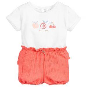 Absorba Baby Girl's 2 T-Shirt And Shorts Set