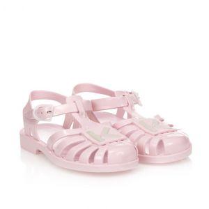 KENZO KIDS Pink Logo Jelly Shoes