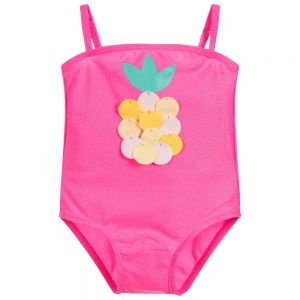 Girls Pink Billie Blush Swimsuit