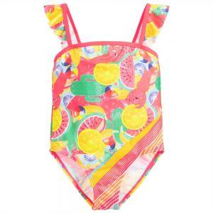 Billieblush Older Girls Pink Fruit Swimsuit