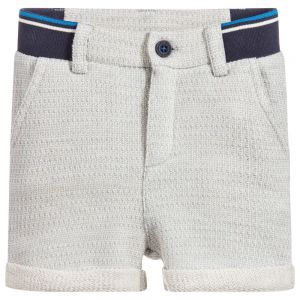 Billybandit Boy's Blue Cotton Jersey Shorts