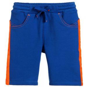 Billybandit Boys Blue Cotton Jersey Shorts