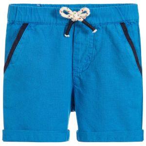 Billybandit Boy's Blue Cotton Shorts