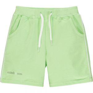 Mitch & Son Boys Green Jersey 'Glenfarg' Shorts