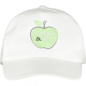 Mitch & Son Boys White Logo 'Grey' Cap