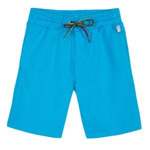 Paul Smith Junior Boys Blue Cotton Toky Shorts