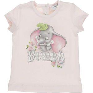 Monnalisa Girls Pink Disney Dumbo T-Shirt