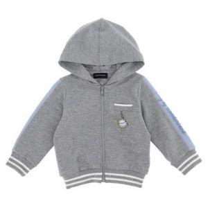 Monnalisa Baby Boys Grey Disney Zip-Up Top