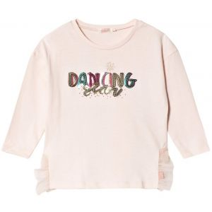 Billieblush Girls Pink Cotton Dancing Star Top