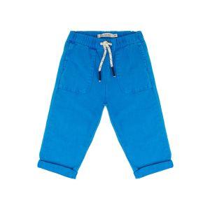 Billybandit Boy's Blue Soft Cotton Trousers