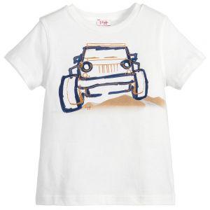 IL Gufo Boy's 4x4 Print T-Shirt