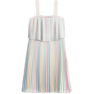 Billieblush Pink & Blue Satin Dress