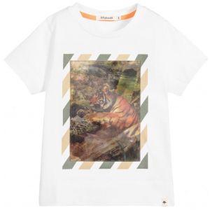 Billybandit Boys White Holographic T-Shirt