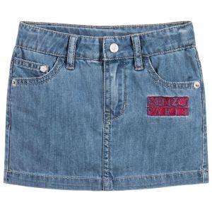 Kenzo Kids Girl's Blue Denim Skirt