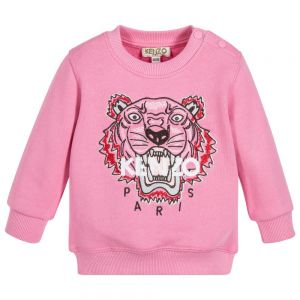 Kenzo Baby Girl's Pink Iconic Sweatshirt