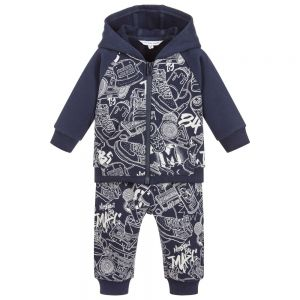 LITTLE MARC JACOBS Baby Boy's Graffiti Cotton Baby Tracksuit