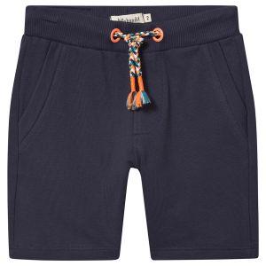 Billybandit Navy Blue Cotton Jersey Shorts