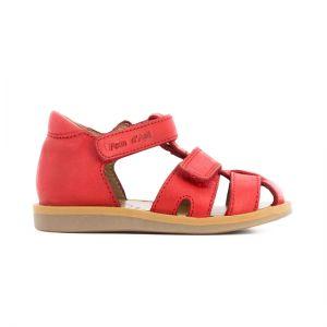 Pom D'Api Boy's Red Sandals