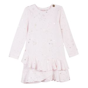 LILI GAUFRETTE Girl's Pink Cotton Dress