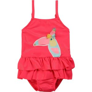 Billieblush Sparkly Pink Toucan Swimsuit