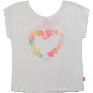 Billieblush White Cotton Shell T-Shirt