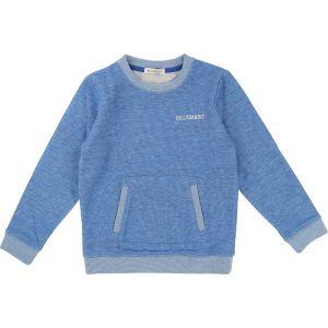 Billybandit Boy's Blue Soft Cotton Sweatshirt