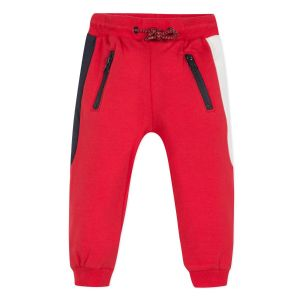 3Pommes Boys Red,Navy Blue and White  Joggers