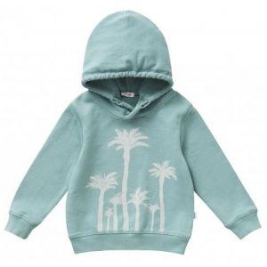 IL Gufo Boy's Palm Print Hooded Sweatshirt